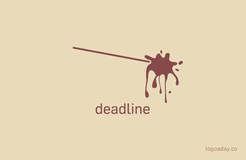 deadline logo a day